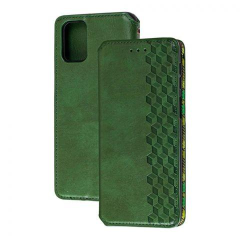 Чехол-книжка для Samsung Galaxy M51 (M515) Getman Cubic-Green