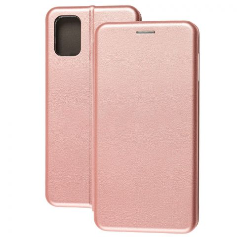 Чехол-книжка для Samsung Galaxy M51 (M515) Premium-Rose Gold