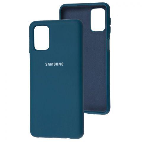 Силиконовый чехол для Samsung Galaxy M51 (M515) Silicone Full-Cosmos Blue