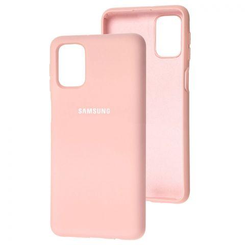 Силиконовый чехол для Samsung Galaxy M51 (M515) Silicone Full-Light Pink