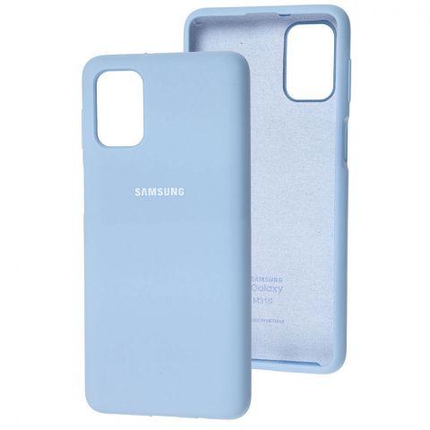 Силиконовый чехол для Samsung Galaxy M51 (M515) Silicone Full-Lilac Blue