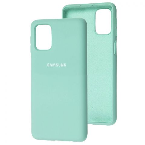 Силиконовый чехол для Samsung Galaxy M51 (M515) Silicone Full-Turquoise