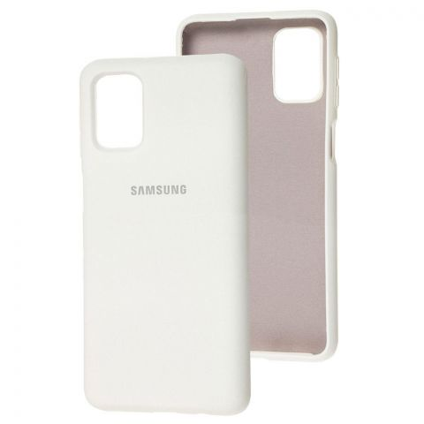 Силиконовый чехол для Samsung Galaxy M51 (M515) Silicone Full-White
