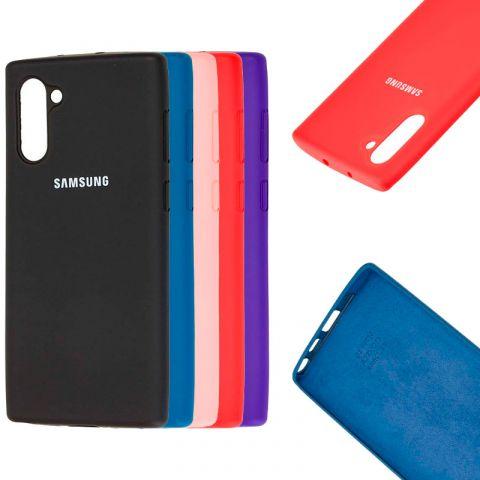 Чехол для Samsung Galaxy Note 10 (N970) Silicone Full