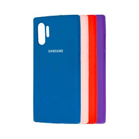 Чехол для Samsung Galaxy Note 10 Plus (N975) Silicone Full