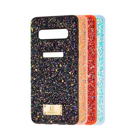 Чехол для Samsung Galaxy S10 (G973) Puloka Macaroon с блестками