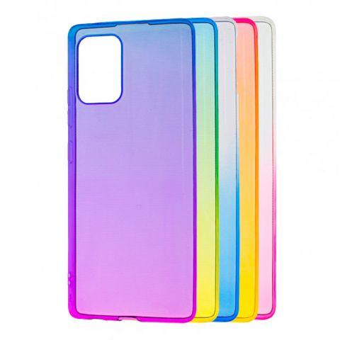 Силиконовый чехол для Samsung Galaxy S10 Lite (G770) Gradient Design