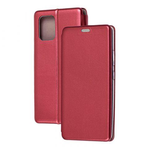 Чехол-книжка для Samsung Galaxy S10 Lite (G770) Premium-Bordo