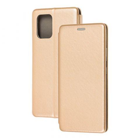 Чехол-книжка для Samsung Galaxy S10 Lite (G770) Premium-Gold