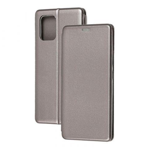 Чехол-книжка для Samsung Galaxy S10 Lite (G770) Premium-Gray