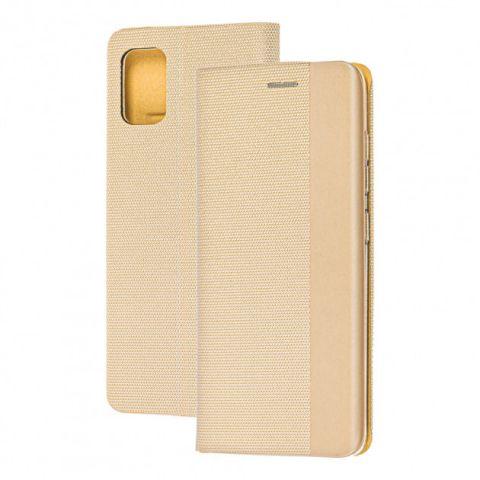 Чехол-книжка для Samsung Galaxy S10 Lite (G770) Premium HD-Gold