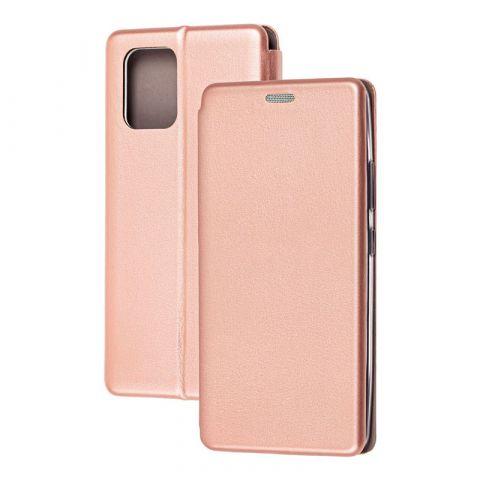 Чехол-книжка для Samsung Galaxy S10 Lite (G770) Premium-Rose Gold
