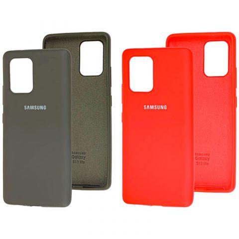 Чехол для Samsung Galaxy S10 Lite (G770) Silicone Full