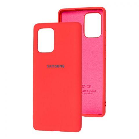 Чехол для Samsung Galaxy S10 Lite (G770) Silicone Full-Coral