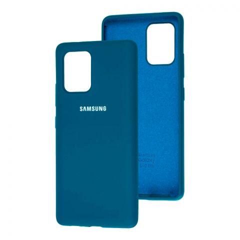 Чехол для Samsung Galaxy S10 Lite (G770) Silicone Full-Ocean Blue