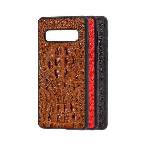 Кожаный чехол для Samsung Galaxy S10 Plus (G975) Genuine Leather Horsman