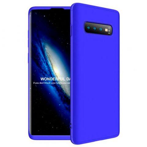 Чехол для Samsung Galaxy S10 Plus (G975) GKK LikGus 360-Blue