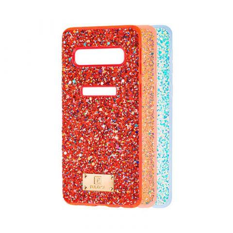 Чехол для Samsung Galaxy S10 Plus (G975) Puloka Macaroon с блестками
