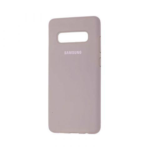 Чехол для Samsung Galaxy S10 Plus (G975) Silicone Full-Gray
