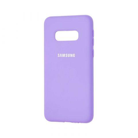 Чехол для Samsung Galaxy S10e (G970) Silicone Full-Lavender