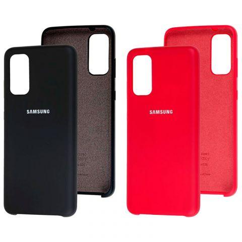 Чехол для Samsung Galaxy S20 (G980) Soft Touch Silicone Cover