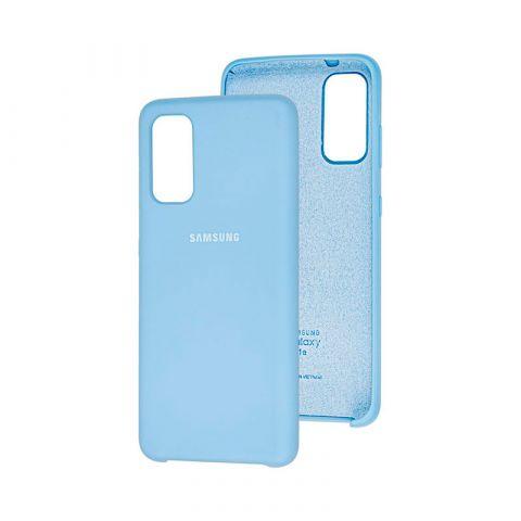 Чехол для Samsung Galaxy S20 (G980) Soft Touch Silicone Cover-Lilac