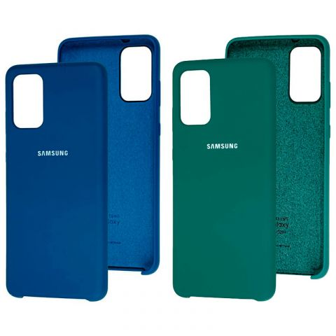 Чехол для Samsung Galaxy S20 Plus (G985) Soft Touch Silicone Cover