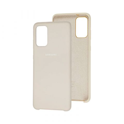 Чехол для Samsung Galaxy S20 Plus (G985) Soft Touch Silicone Cover-Stone