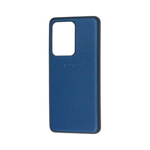 Чехол для Samsung Galaxy S20 Ultra (G988) Fiber Logo-Blue