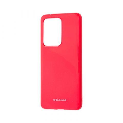Чехол для Samsung Galaxy S20 Ultra (G988) Molan Cano Jelly глянец-Pink