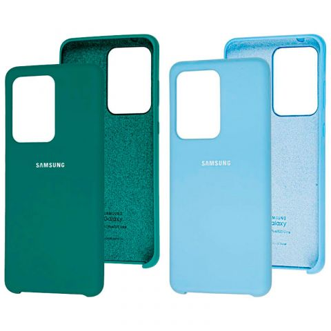 Чехол для Samsung Galaxy S20 Ultra (G988) Soft Touch Silicone Cover