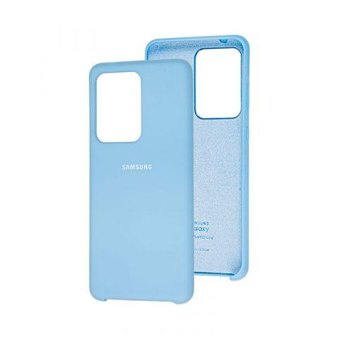 Чехол для Samsung Galaxy S20 Ultra (G988) Soft Touch Silicone Cover-Lilac