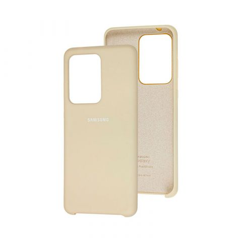 Чехол для Samsung Galaxy S20 Ultra (G988) Soft Touch Silicone Cover-Stone
