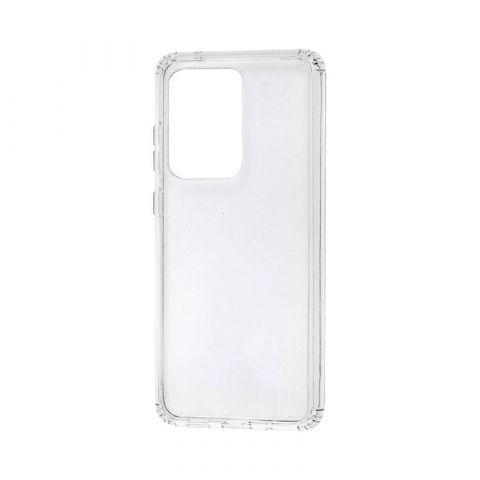 Ударопрочный пластиковый чехол для Samsung Galaxy S20 Ultra (G988) Wave Clear