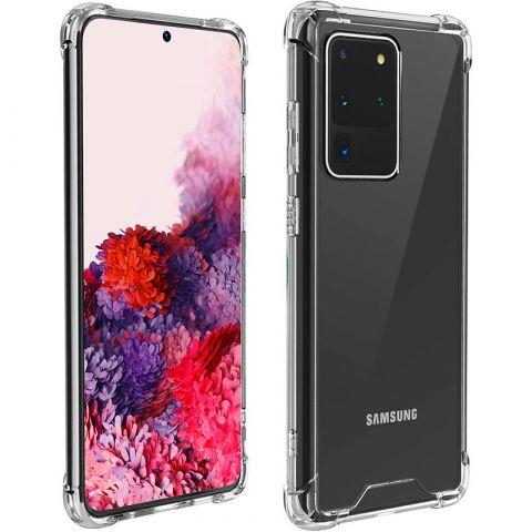 Противоударный силиконовый чехол для Samsung Galaxy S20 Ultra (G988) WXD