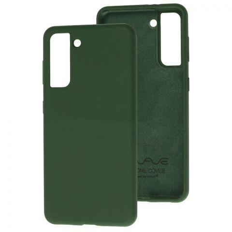 Силиконовый чехол для Samsung Galaxy S21 (G991) Wave Full-Cyprus Green