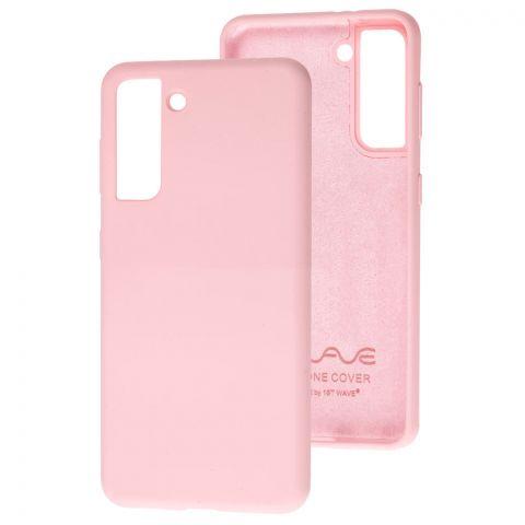 Силиконовый чехол для Samsung Galaxy S21 (G991) Wave Full-Light Pink