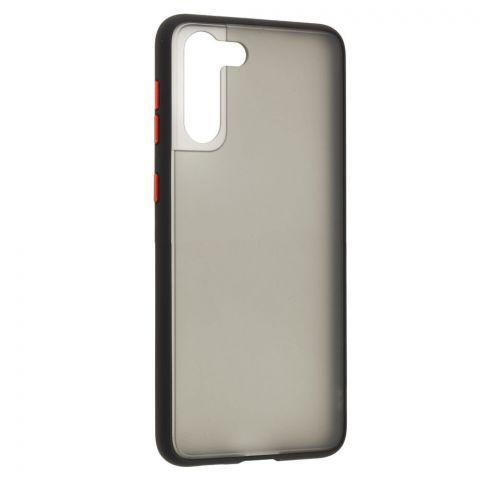 Чехол для Samsung Galaxy S21 Plus (G996) LikGus Maxshield-Black/Red