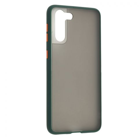 Чехол для Samsung Galaxy S21 Plus (G996) LikGus Maxshield-Dark Olive