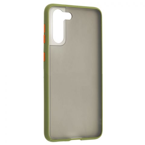 Чехол для Samsung Galaxy S21 Plus (G996) LikGus Maxshield-Green