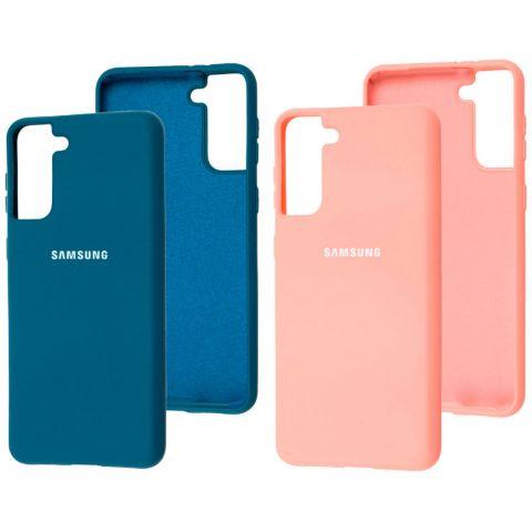 Силиконовый чехол для Samsung Galaxy S21 Plus (G996) Silicone Full