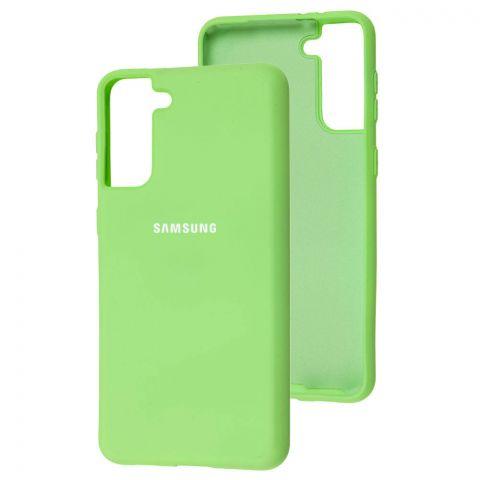 Силиконовый чехол для Samsung Galaxy S21 Plus (G996) Silicone Full-Mint