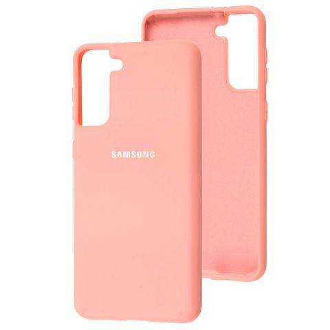 Силиконовый чехол для Samsung Galaxy S21 Plus (G996) Silicone Full-Pink