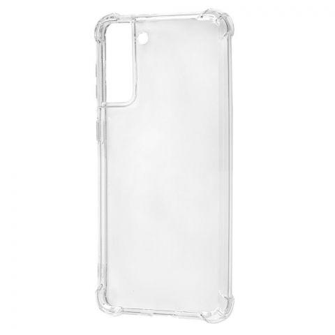 Противоударный силиконовый чехол для Samsung Galaxy S21 Plus (G996) WXD
