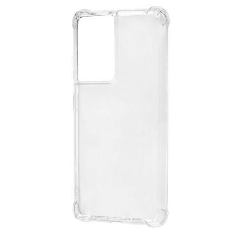 Противоударный силиконовый чехол для Samsung Galaxy S21 Ultra (G998) WXD