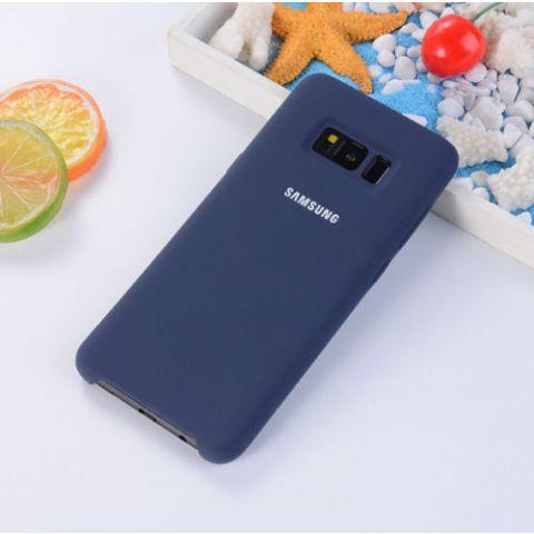 Чехол для Samsung Galaxy S7 (G930) Silicone Cover-Dark Blue
