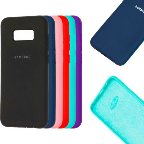 Чехол для Samsung Galaxy S8 Plus (G955) Silicone Full