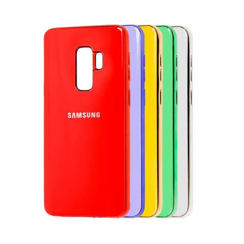 Чехол для Samsung Galaxy S9 Plus (G965) Glass Silicone Case