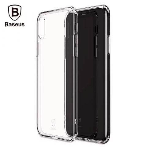 Чехол для iPhone X/XS Baseus Simple Series Case-Прозрачный