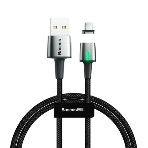 Магнитный кабель USB Type-C Baseus Zinc Magnetic 3A 1m